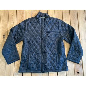 Eddie Bauer Quilted zip up jacket